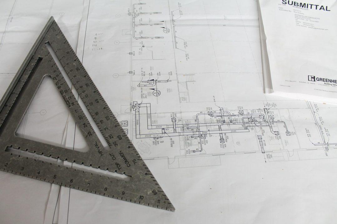 as built drawings slf
